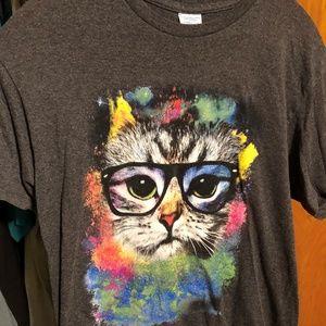 Glidan tee shirt Size M